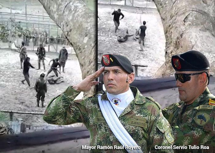 Resultado de imagen para colombia Soldados entrenados para torturar