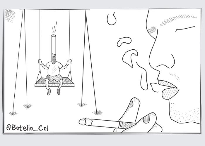 Caricatura: Un fallo vicioso