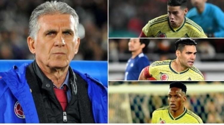 Selección Colombia de fútbol: titulares o suplentes