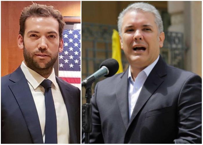 La defensa de Martín Santos al presidente Duque