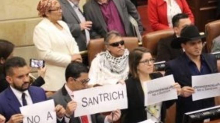 Santrich, el derecho, la política, la moral
