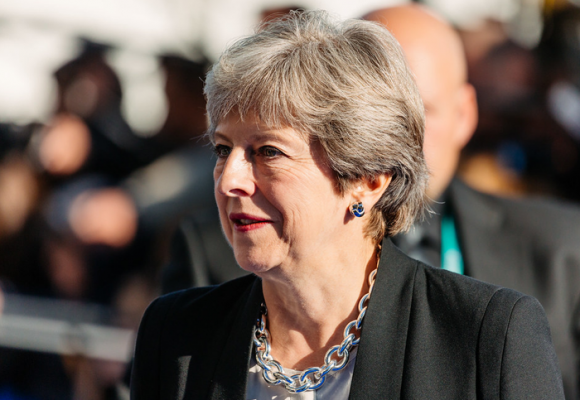 El colapso de Theresa May, la primera ministra británica