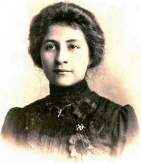 Foto: Clotilde García Borrero, feminista colombiana.