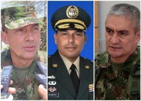 La Procuraduría se mete con tres altos mandos del Ejército