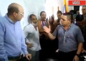 La vaciada del alcalde Rafael Martínez al (E) Andrés Rugeles