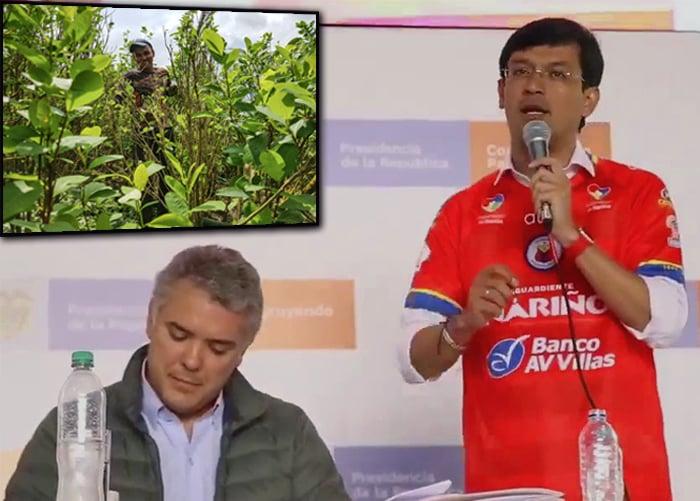 La rebelión del gobernador de Nariño: sustituir y no erradicar la coca