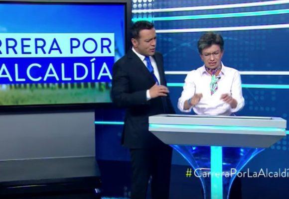 """""""Bravo Claudia López, pusiste en tu sitio al mediocre del Juan Diego Alvira"""""""