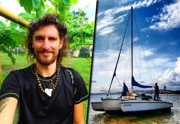 S.O.S por Rocco Acocella, un navegante italiano perdido en el mar Caribe colombiano