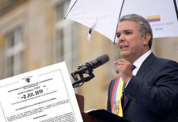 El fiscal lo pondrá el presidente Iván Duque