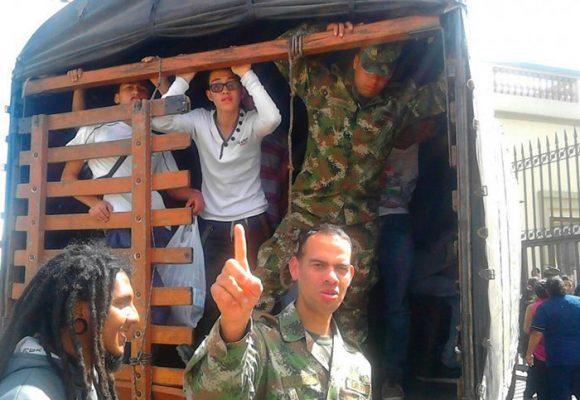 Denuncian detenciones ilegales del ejército en Bolívar