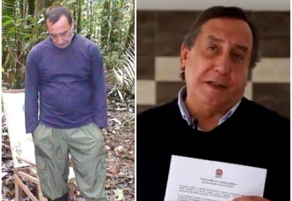 A pesar de su secuestro, Luis Eladio Pérez suma a las Farc a su campaña en Nariño