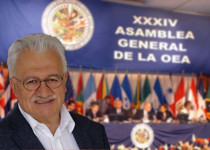 OEA le cierra sus puertas a Everth Bustamante
