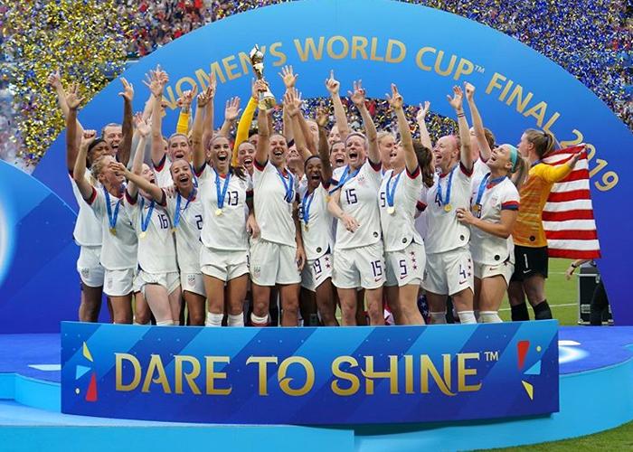 Todas ganamos con la Copa Mundial Femenina de Fútbol