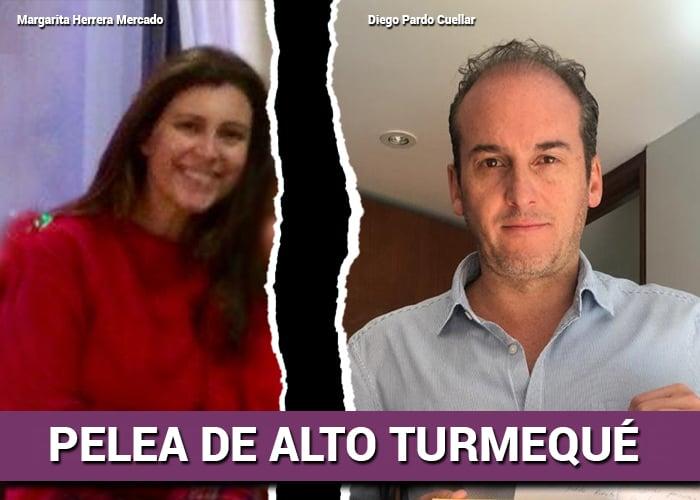 La batalla de Margarita Herrera con su exesposo Diego Pardo para proteger a su pequeña hija