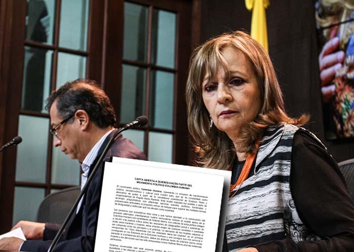 Ángela María Robledo y 60 mujeres se le atravesaron a Hollman Morris
