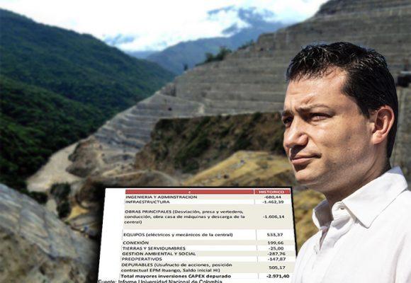 La catástrofe de Hidroituango: pérdidas alcanzan los $ 4 billones