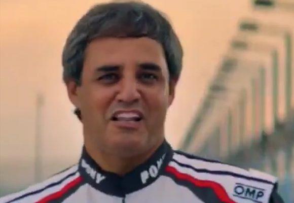 El ridículo look de Juan Pablo Montoya