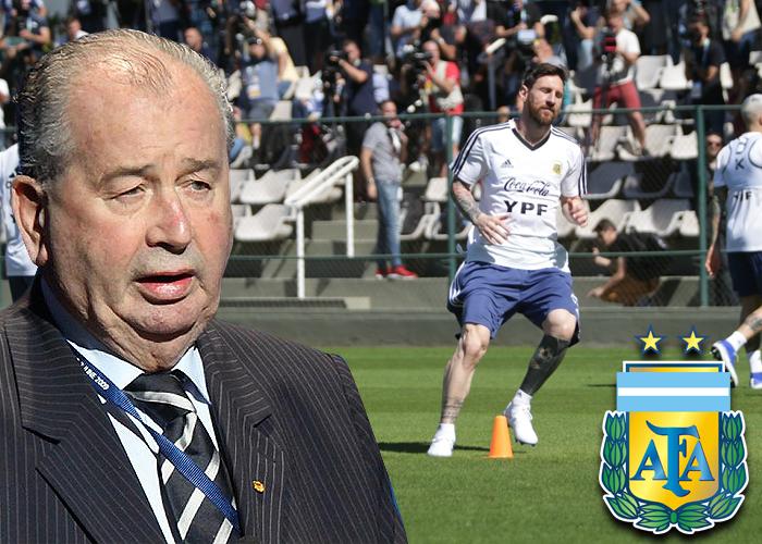 Grondona, el corrupto dirigente que extraña la selección argentina