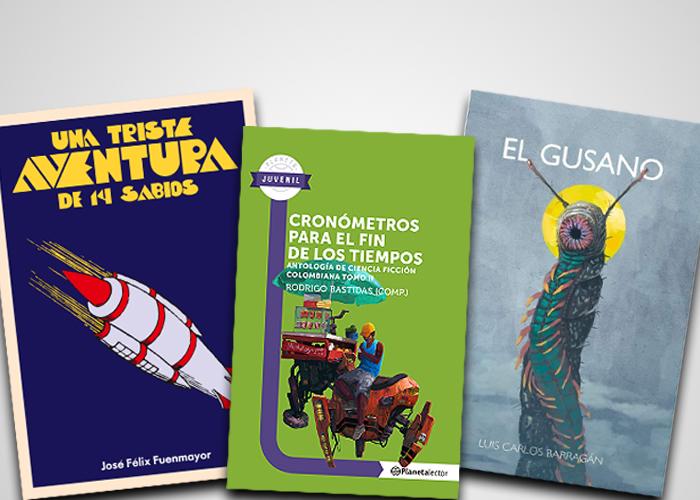 Las novelas de ciencia ficción colombianas que no se puede perder