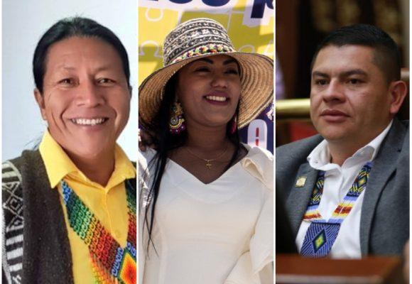 Parte de unidad entre los líderes indígenas del MAIS