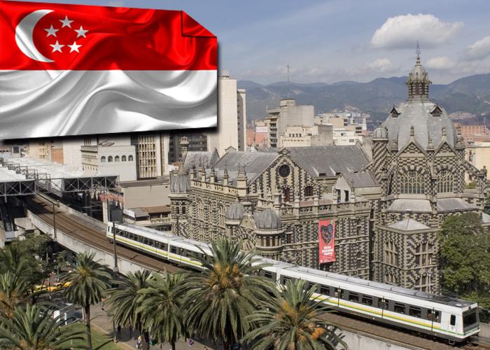 Singapur y Medellín trabajando en conjunto