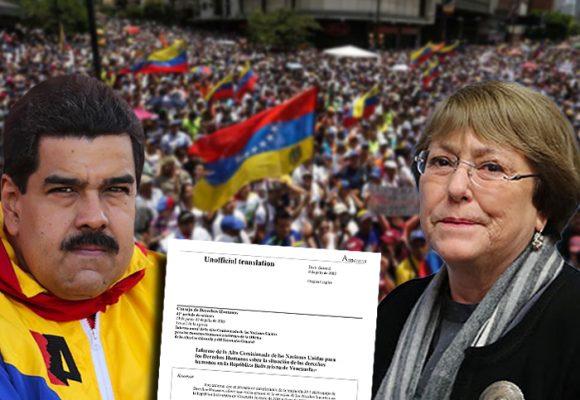 El lapidario informe de Michelle Bachelet que pone a Maduro contra las cuerdas