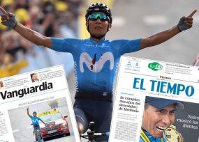 El 'free press' que Movistar perderá con la salida de Nairo Quintana