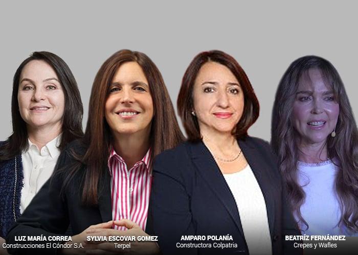 Diez mujeres que han llegado a ser presidentes de grandes compañías colombianas