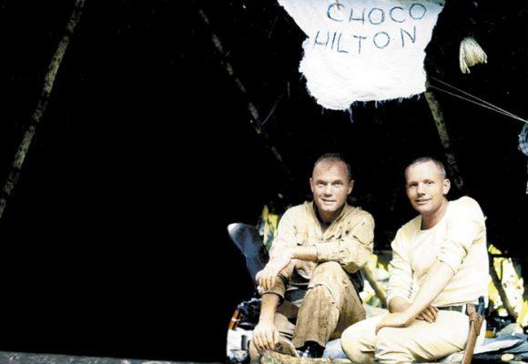 Neil Armstrong y su atormentado viaje a Colombia