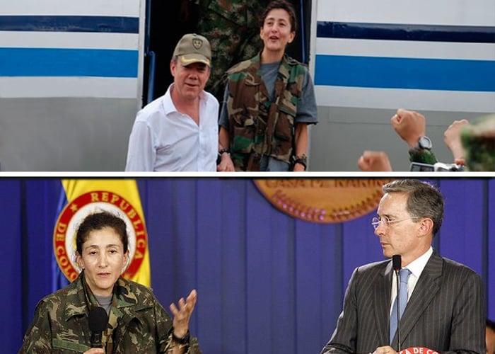 La pelea de Uribe por quitarle protagonismo a Santos en la Operación Jaque