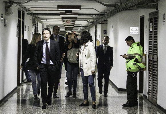 Pelea de alto turmequé: La audiencia de Diego Pardo y Margarita Herrera en fotos