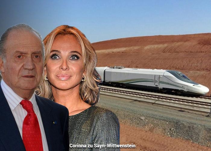 La amante del rey Juan Carlos podría enredarlo por las coimas en el contrato del tren a La Meca