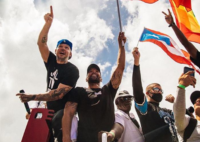 Reguetoneros famosos hacen temblar al gobernador de Puerto Rico