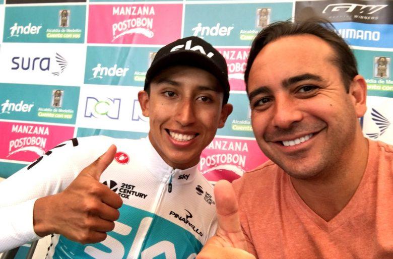 Mario Sábato le dio sopa y seco a los comentaristas colombianos en el Tour de Francia