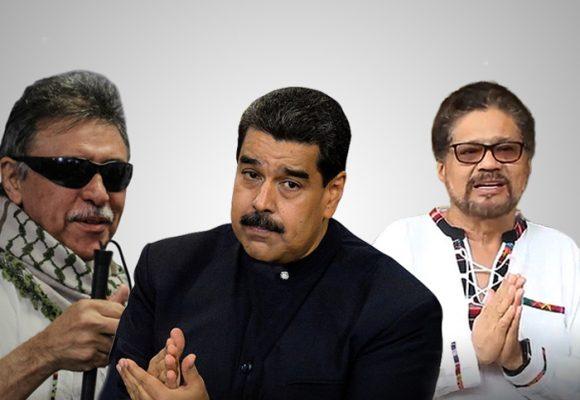 """""""Iván Márquez y Jesús Santrich, me quedé esperándolos"""": Maduro los saluda"""