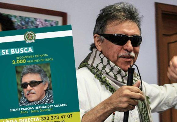 Los $3.000 millones que ofrecen por la cabeza de Santrich