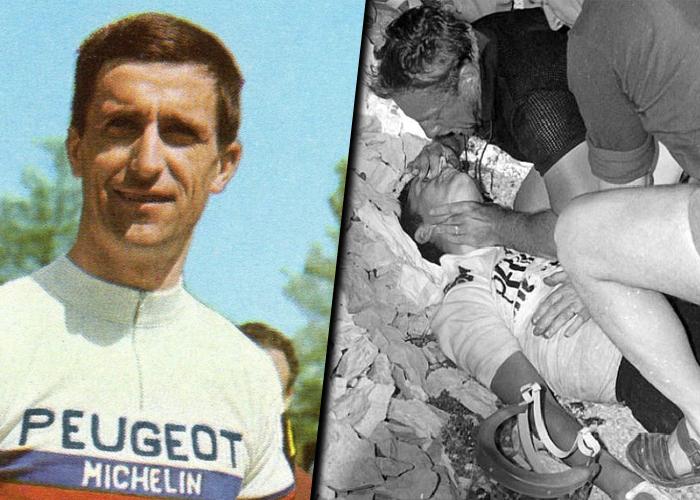El ciclista que encontró la muerte en las montañas del Tour de Francia