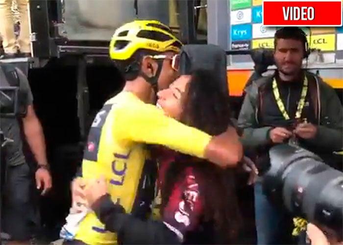 Xiomara Guerrero, el amor que le ha limpiado las heridas a Egan Bernal