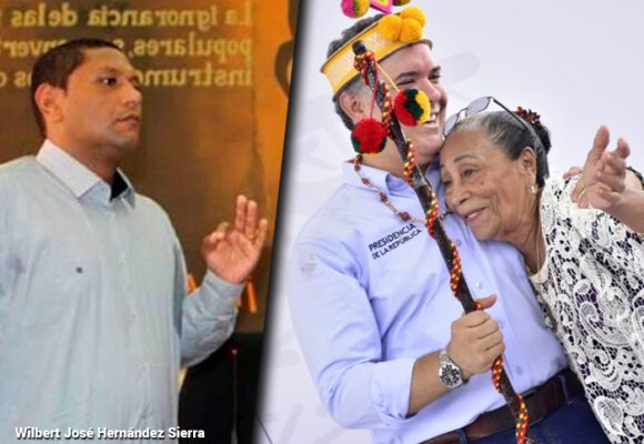 El hijo de mamá Franca no aguantó ni dos meses como gobernador (E) de La Guajira