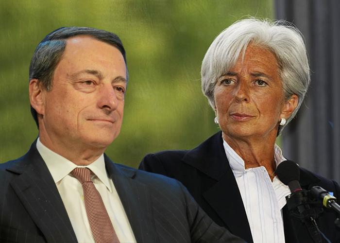 Mario Draghi, expresidente del Banco Central Europeo, en el corazón de la crisis económica