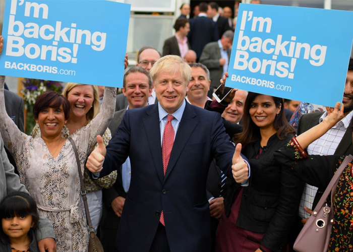 Boris Johnson, el
