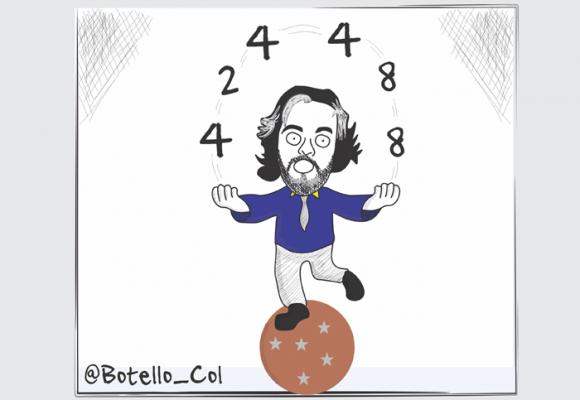 Caricatura: Las curiosas cifras del Dane