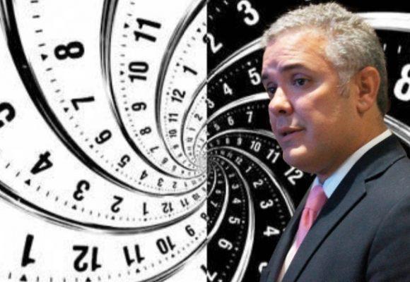 Señor presidente: súbase a la máquina del tiempo…