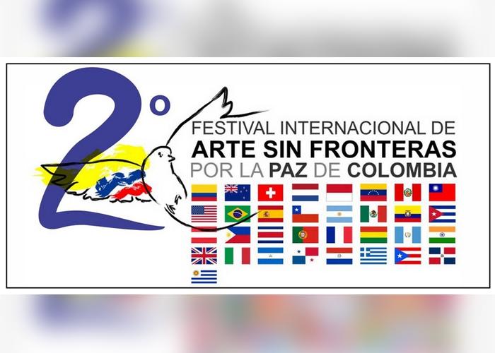 Se viene el segundo Festival de arte sin fronteras por la paz de Colombia