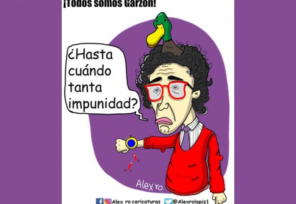Caricatura: Todos somos Garzón