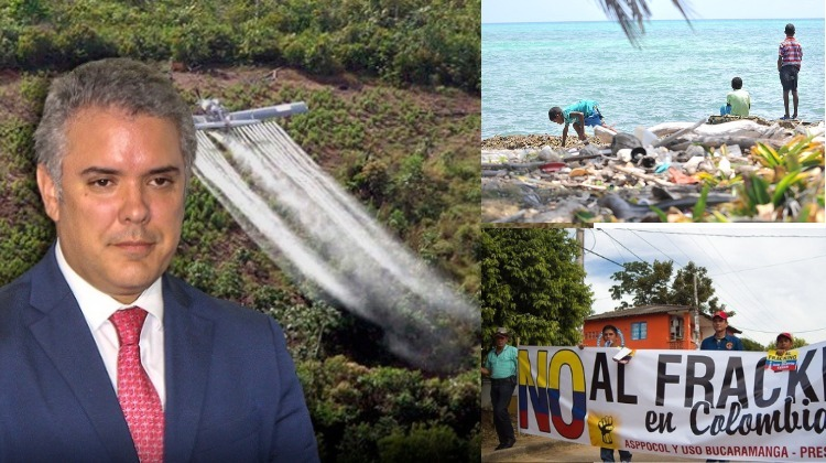 Ni glifosato, ni plásticos, ni fracking