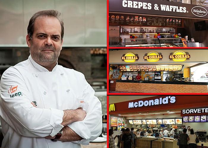 El chef Harry Sasson, solo entre las grandes cadenas de restaurantes