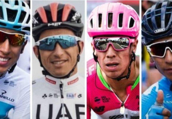 Egan, Sergio, Rigoberto y Nairo: cuatro retratos