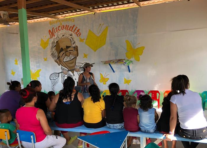 Macondito, un lugar para la imaginación y la reconciliación en el ETCR de Carrizal