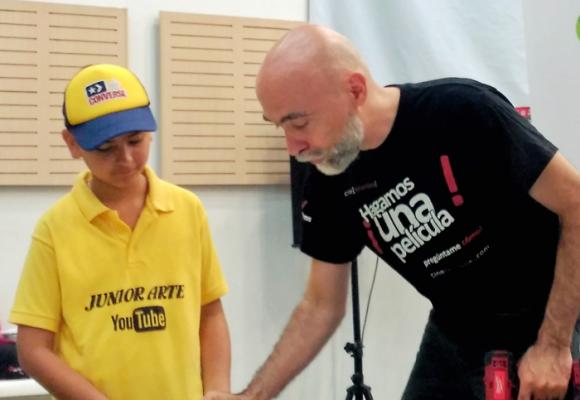 Miguel Urrutia Mora, además de nómada, un cineasta apasionado